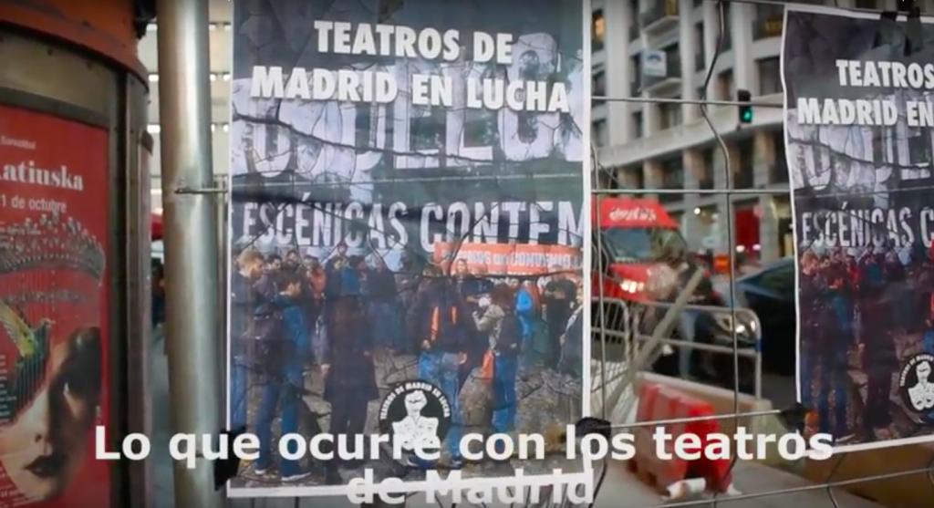 Teatros de Madrid en lucha