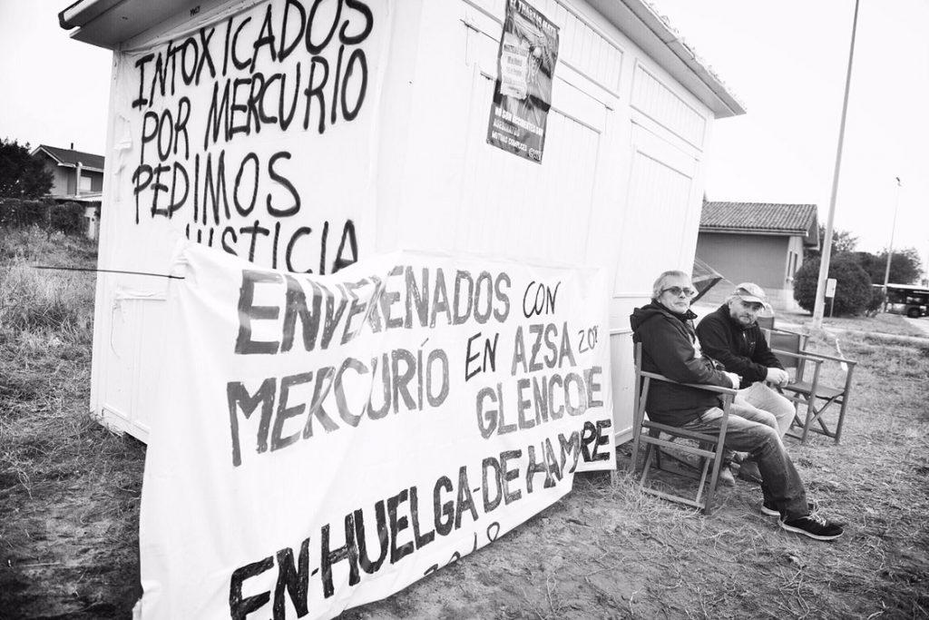mercurio-envenenandos-huelga-hambre