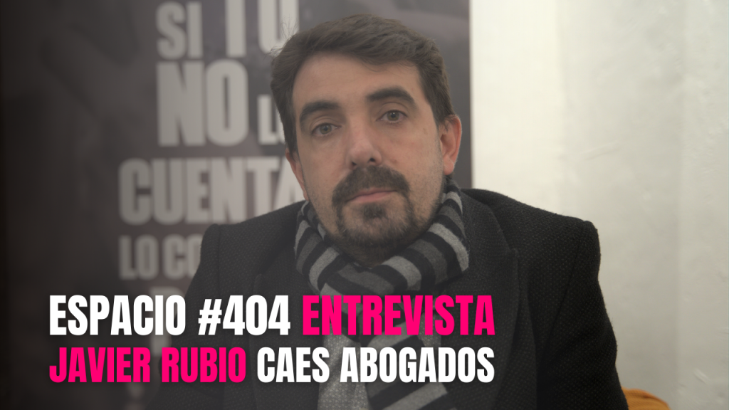 Entrevista a Javier Rubio de CAES Abogados