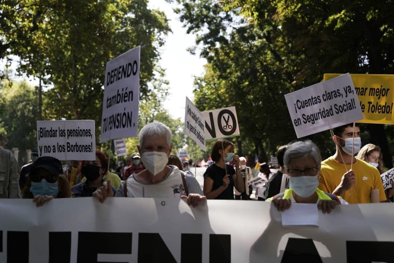 Otoño Caliente sale a las calles en defensa de los servicios públicos